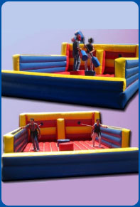 Bungee Run/Jousting Arena